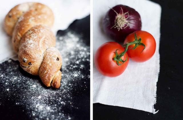 Dakos Salat - eine griechische Liebe von Wiener Wohnsinn auf den Tellern von Broste Copenhagen