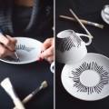 DIY Idee für Weihnachtsgeschenke- Keramiktassen anmalen