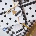Geschenkpackideen zum Basteln und bestempeln auf Wiener Wohnsinn
