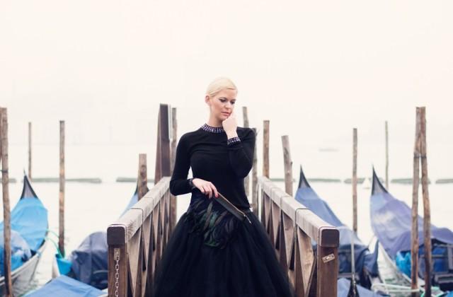 Eine portrait Session in Venedig mit Melanie Nedelko