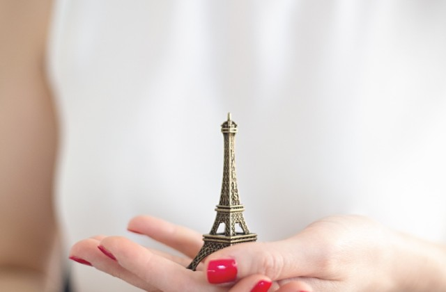 Mode aus Paris - Eiffelturm, Massimo Dutti Sandalen