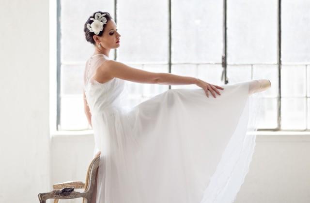 Ein Ballerina inspiriertes Shooting im WUK in Wien.