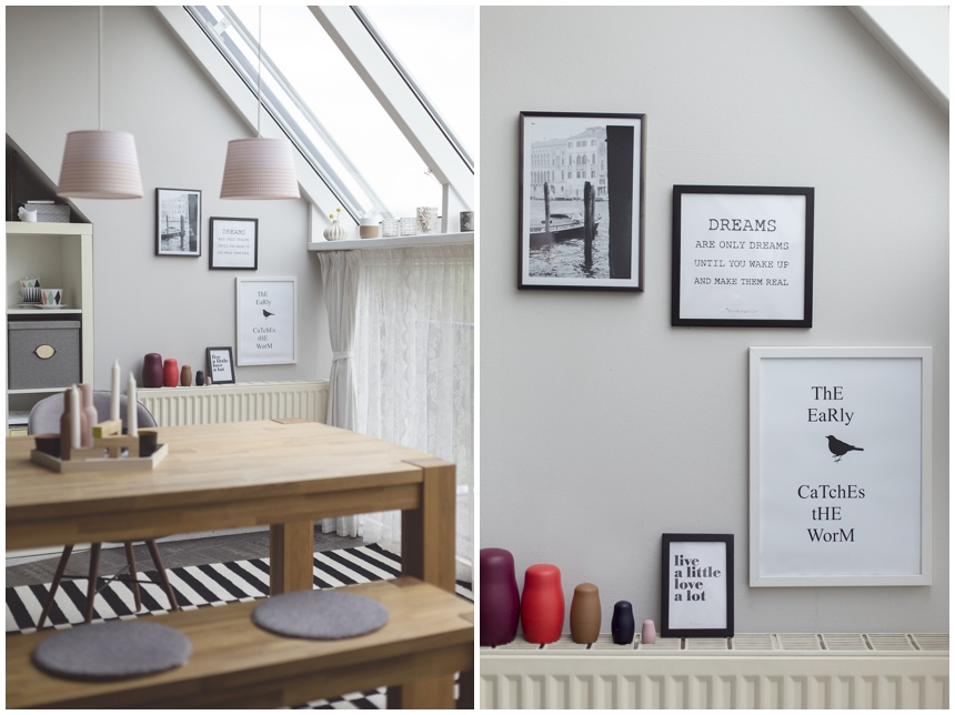 fashion for home, wiener wohnsinn blog, esszimmer, vollholztisch eiche,