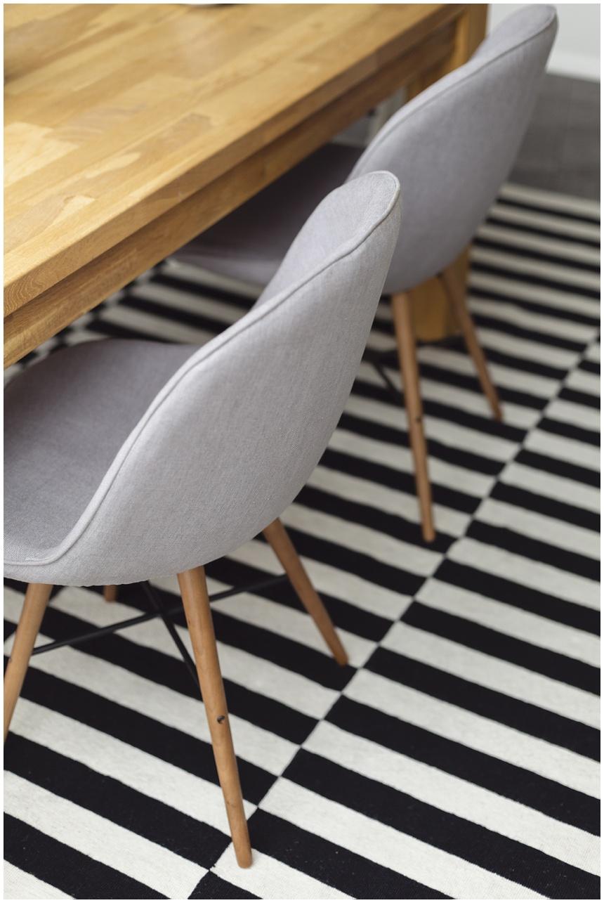 ikea stockholm teppich, fashion for home, wiener wohnsinn blog, esszimmer, vollholztisch eiche,