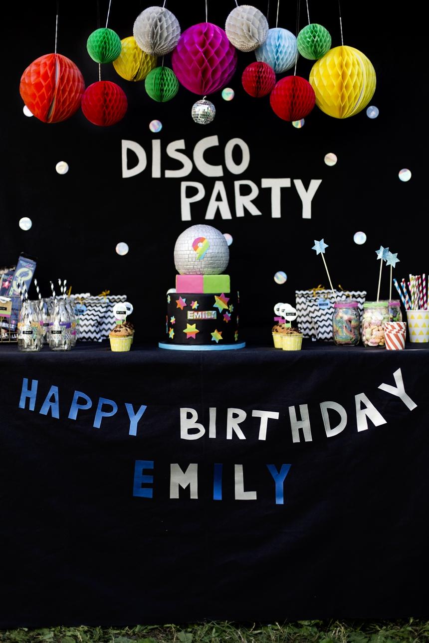 Disco Geburtstagsparty by Wiener Wohnsinn