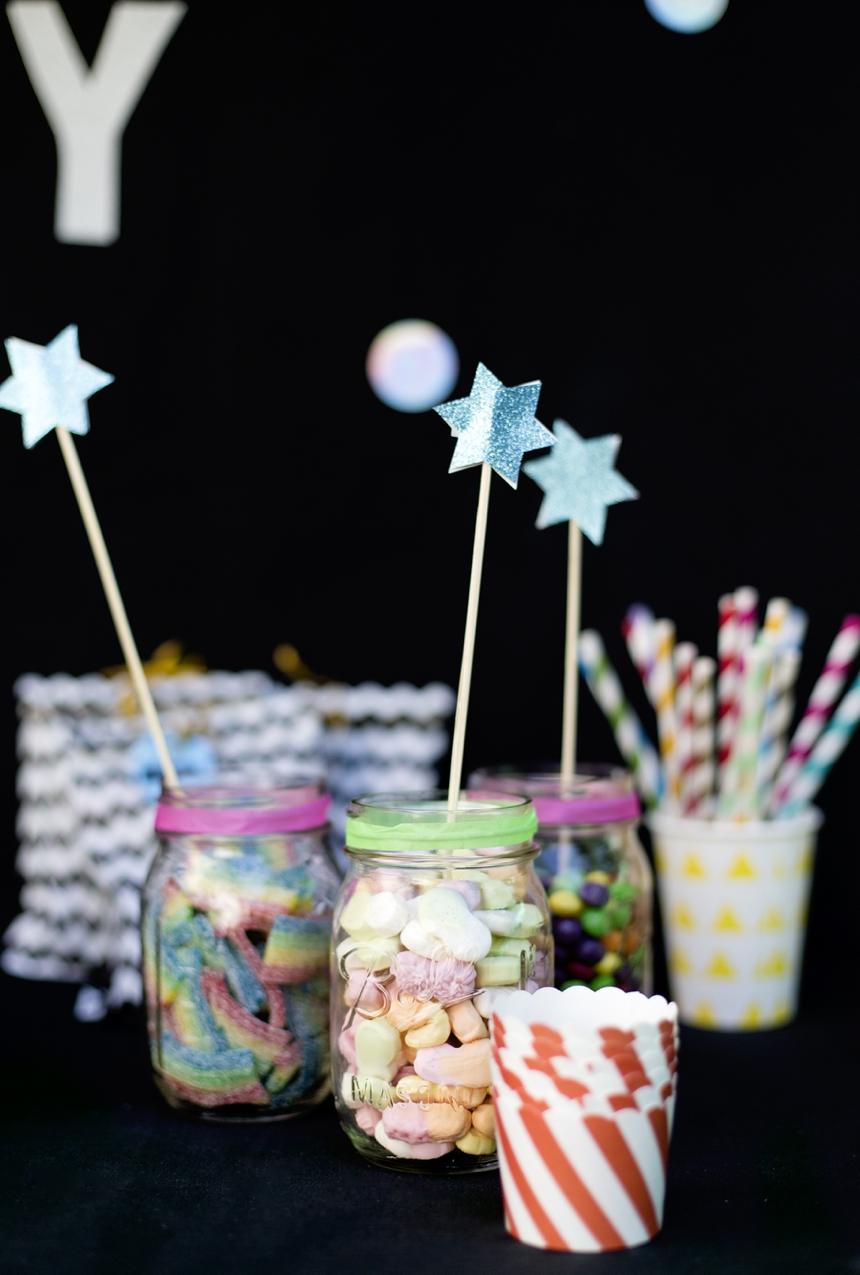 Candy Bar Disco Geburtstagsparty Wiener Wohnsinn