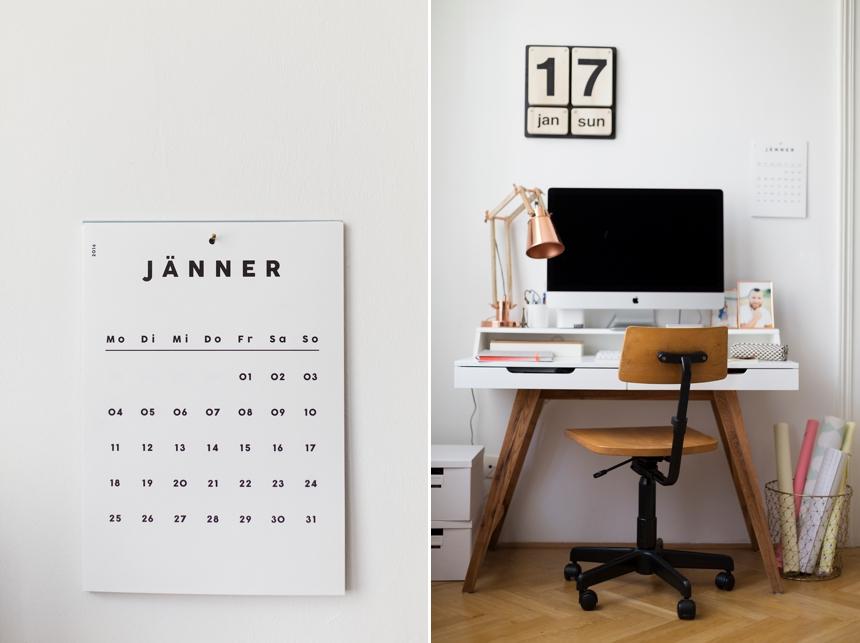 Wandkalender von Falz & Vorsatz - Maria Hack