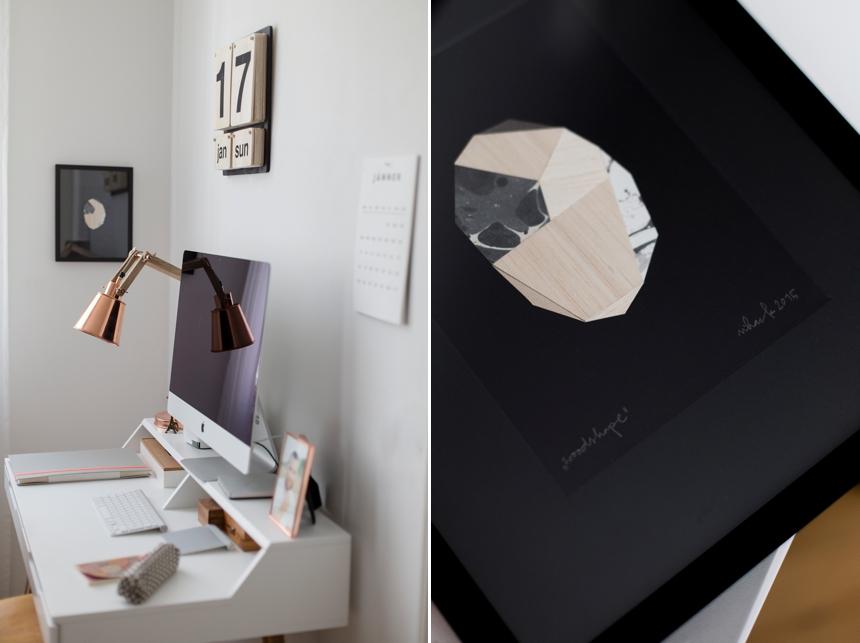 Woodshape Fragmentbild  von Falz & Vorsatz - Maria Hack