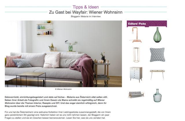 wayfair wiener wohnsinn interiorblog