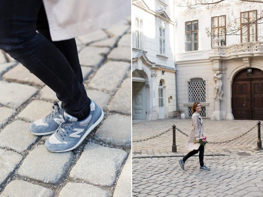 Spaziergang durch Wien's Altstadt