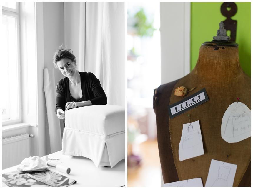 Wiener Wohnsinnige Homestory - Suzy von Lilu Taschen