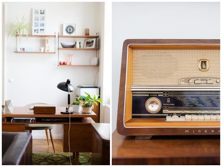 Vintage Einrichtung Schreibtisch