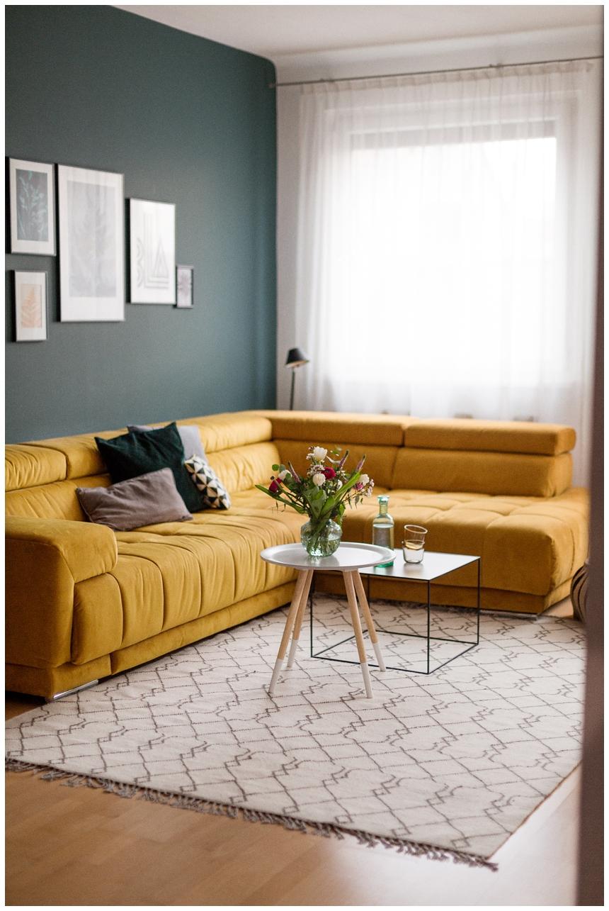 Ein neuer Teppich fuer's Wohnzimmer