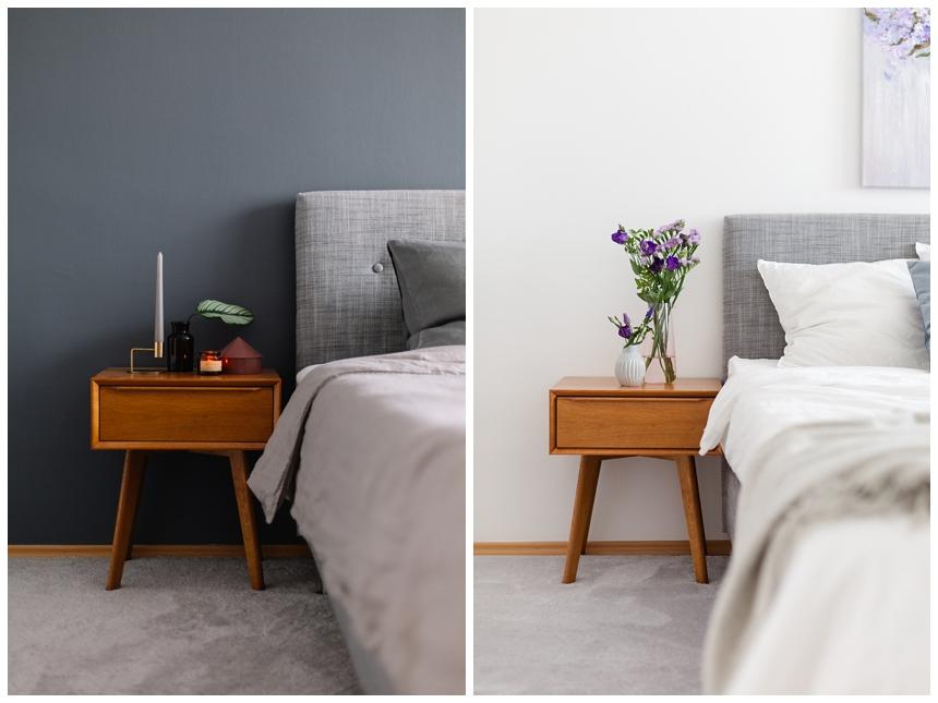 Bedroom Makeover vorher - nachher