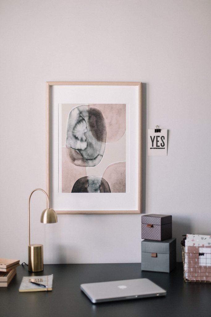 Teh Poster Club - Berit Mogensen Lopez Art Print © Wiener Wohnsinn