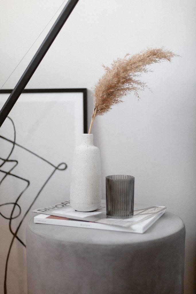 Schlafzimmer Inspiration in Grau © Wiener Wohnsinn Blog