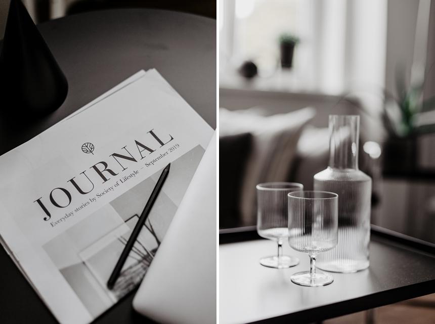 Ripple Gläser Ferm Living © Wiener Wohnsinn Interieur Blog