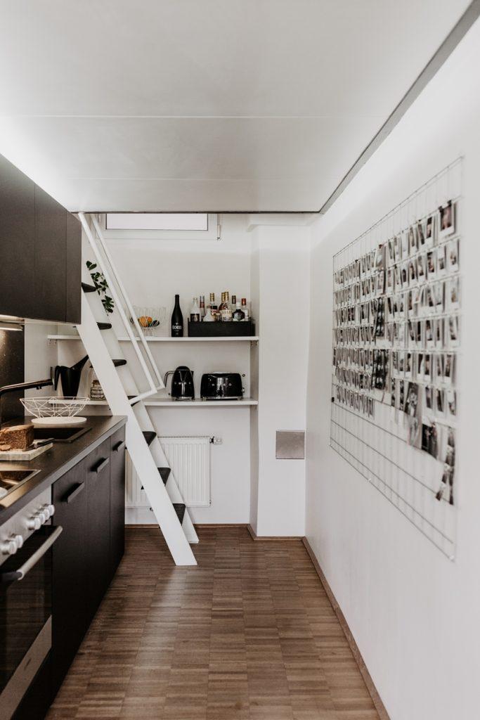 Loft Kitchen idea © Wiener Wohnsinn Interior Blog
