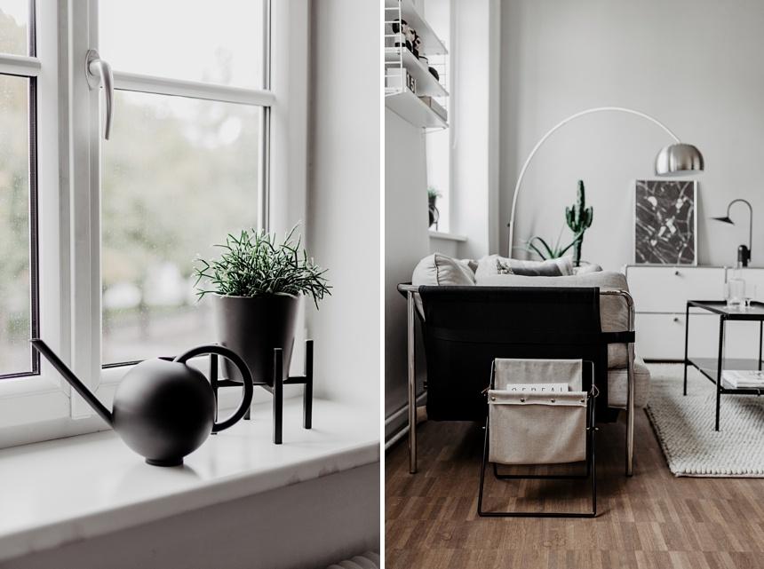 Monochrome Living , Interior Design, Loft Living © Wiener Wohnsinn