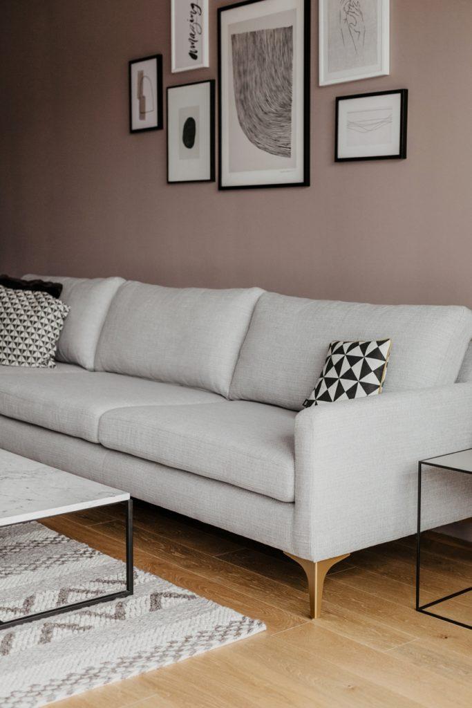 mein neues Sofa von Sofacompany - Modell Astha - Wiener Wohnsinn