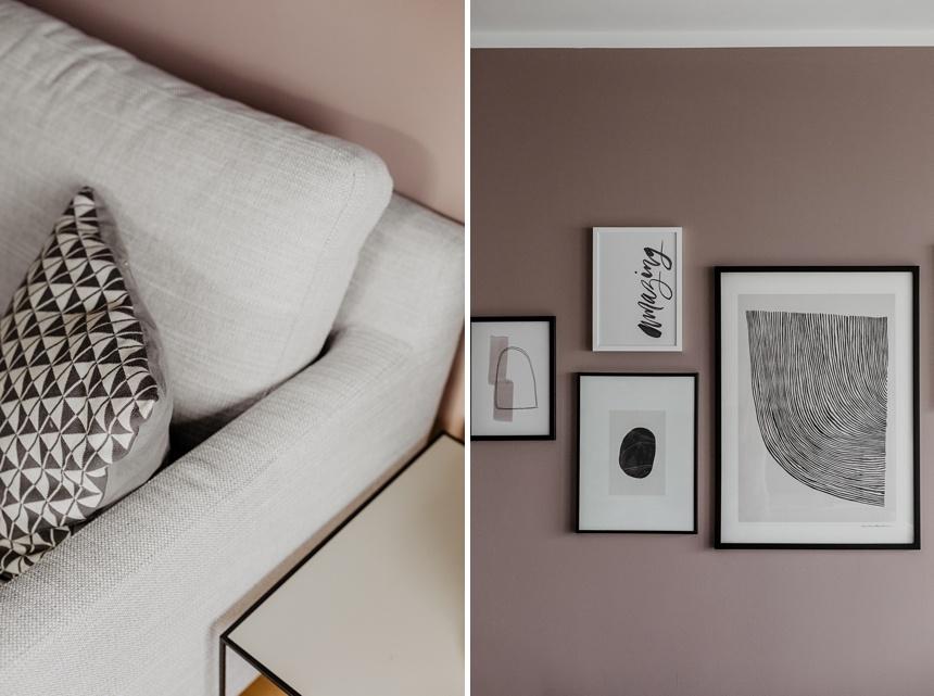 Monochromer Interior Stil - Wiener Wohnsinn , Interior Design Blog, Pebbles Poster