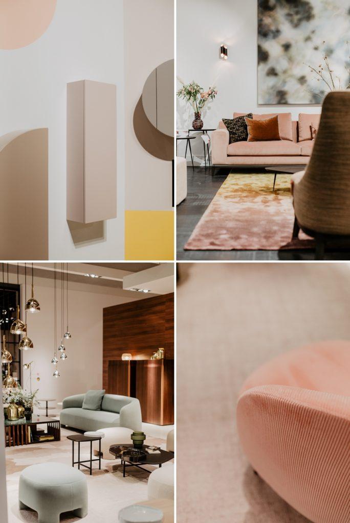 Pastellfarben sind einer der Interior Trends / Wohntrends 2020