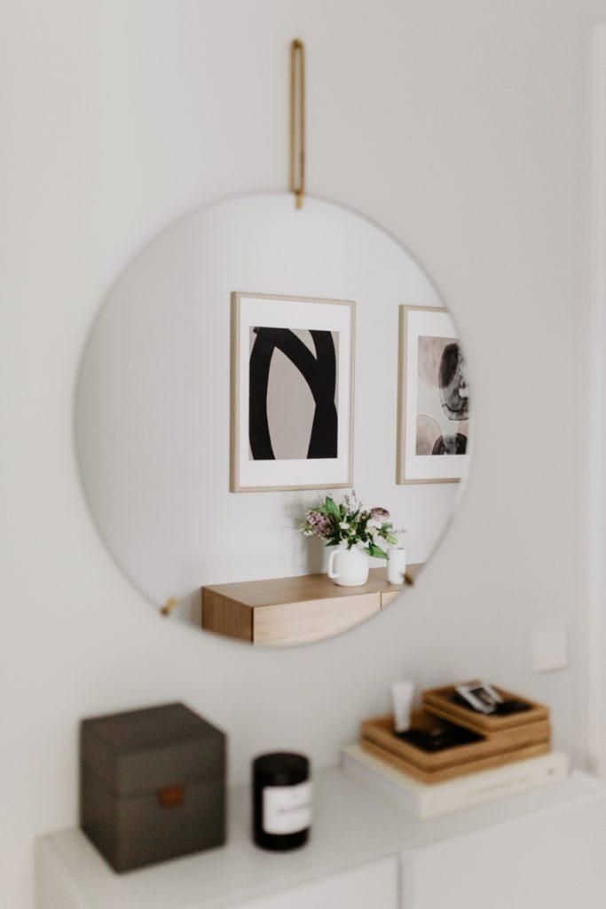 Moebe Wandspiegel rund , Wiener Wohnsinn Blog