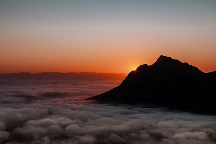 Lion's Head Wanderung bei Sonnenaufgang , Kapstadt Guide - Must Do's in Cape Town