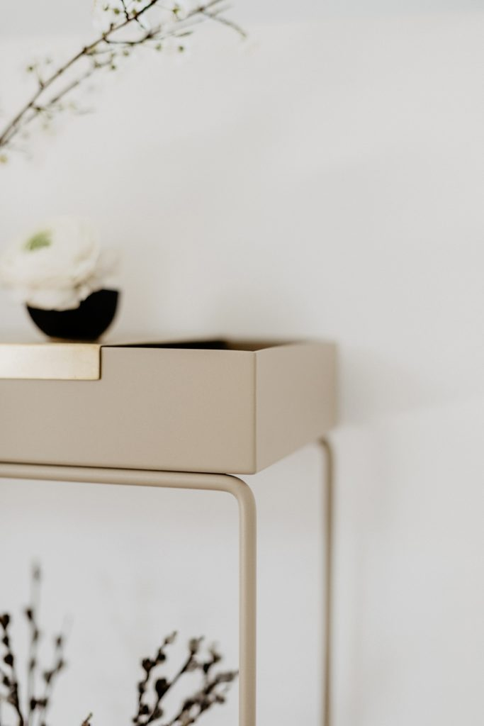 Copenhagen Hus , Ferm Living Plant Box in Beige