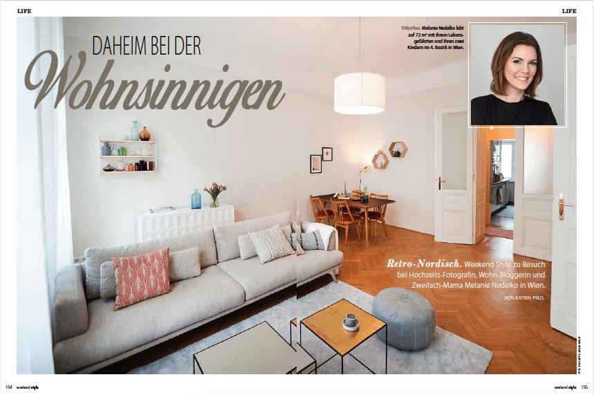 Homestory melanie kuglitsch weekend Magazin