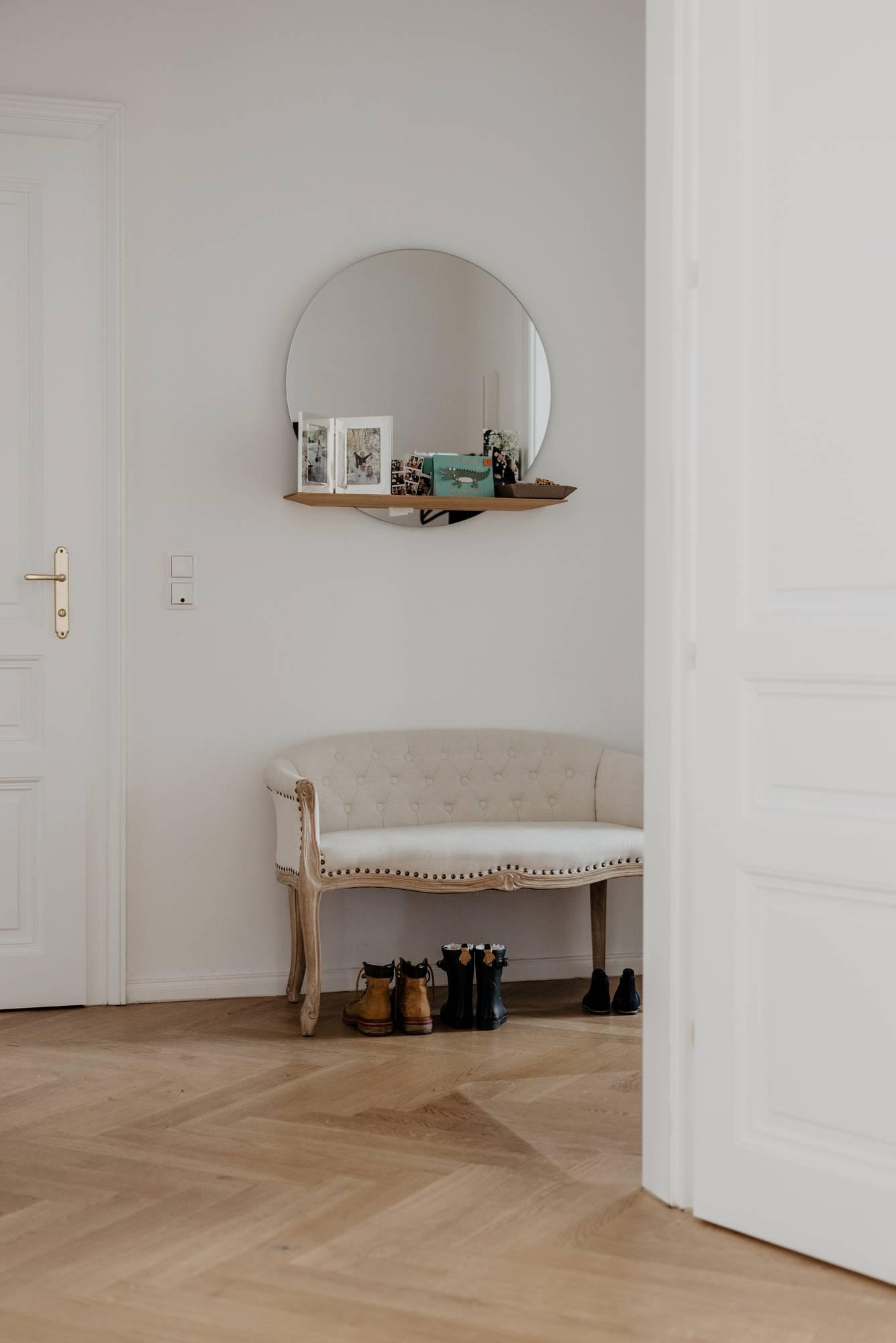 Eingangsbereich - Inspiration Flur Wiener Wohnsinn