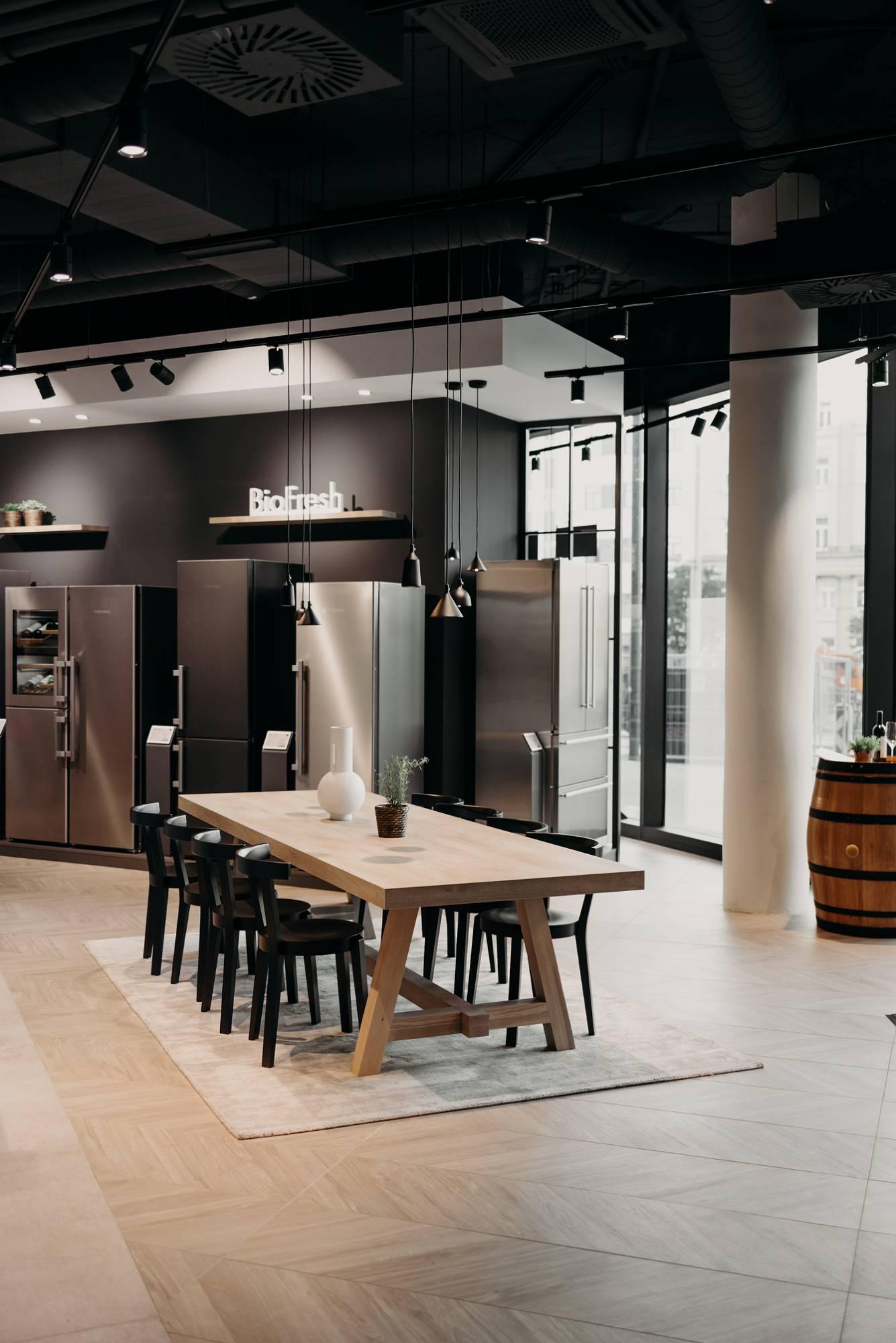 Liebherr Store Wien -  Wiener Wohnsinn